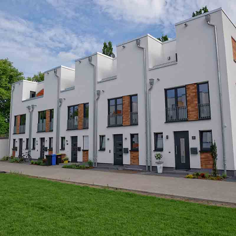 Landwehrviertel im Stadtteil Atter