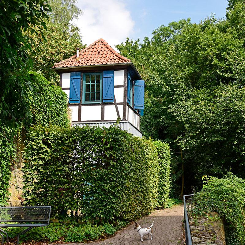 Hingucker: Das kleinste Studentenwohnheim Deutschlands.