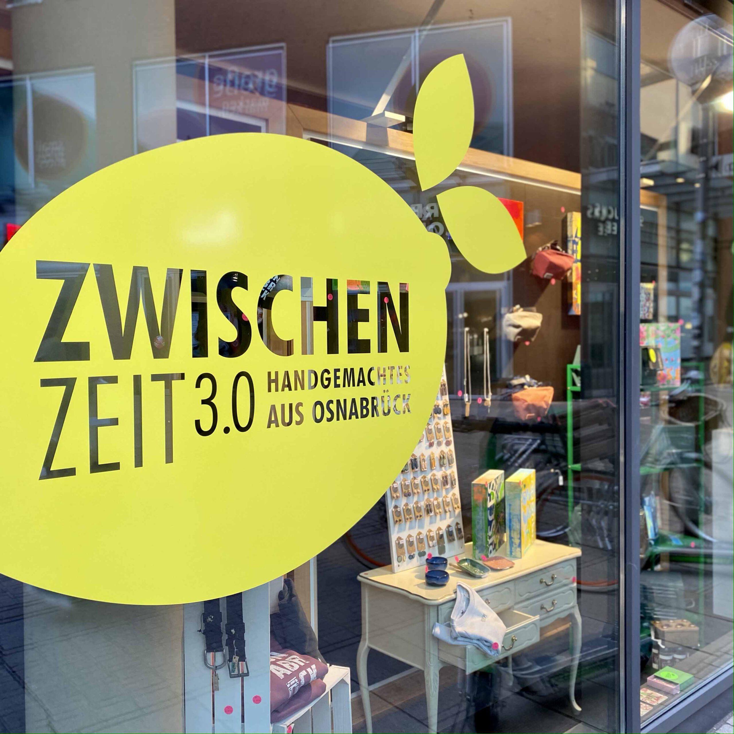 Pop-up-Store Zwischenzeit 3.0 an der Kamp-Promenade in Osnabrück