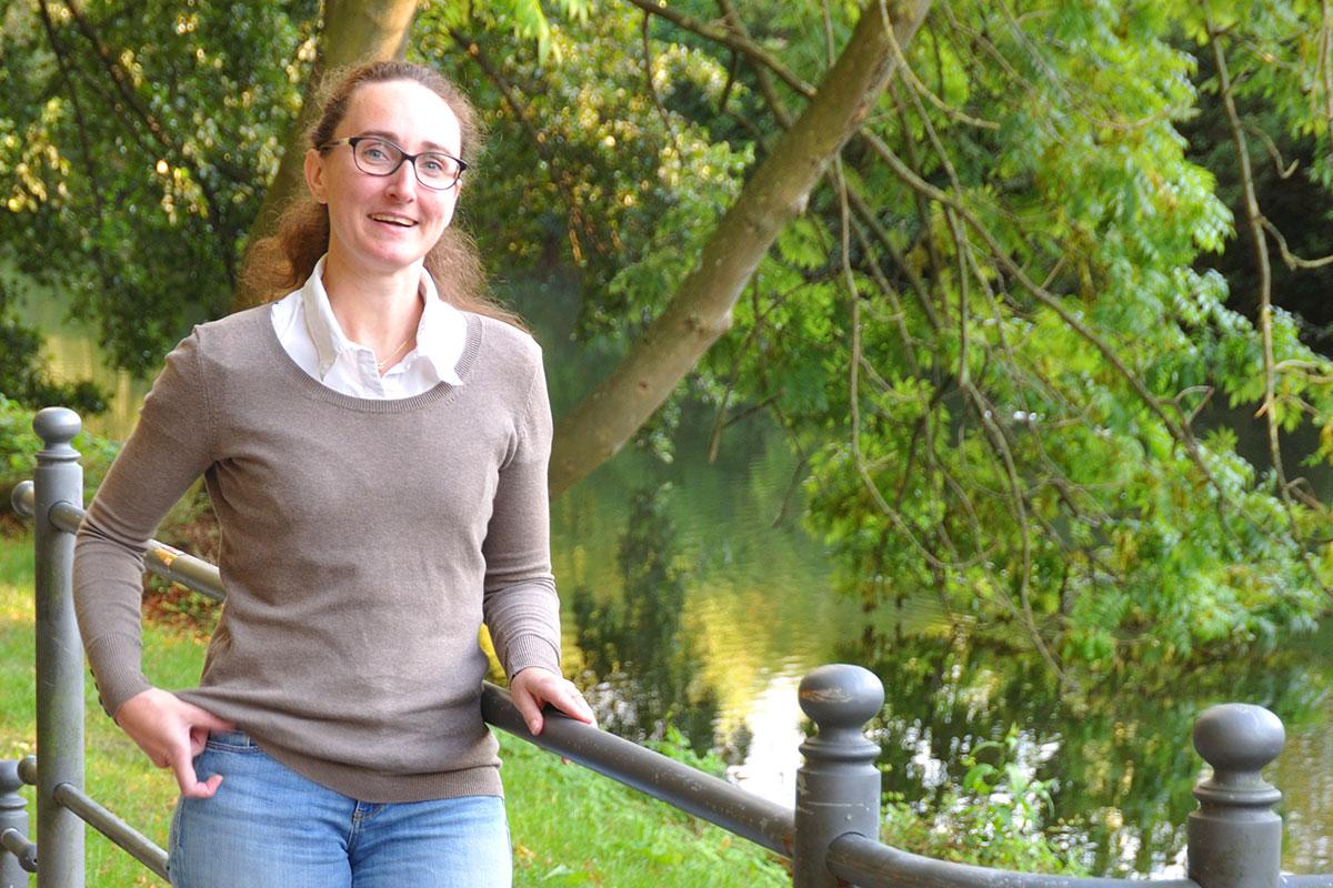Nina Kallmeier hat in Osnabrück ihre Homebase gefunden.