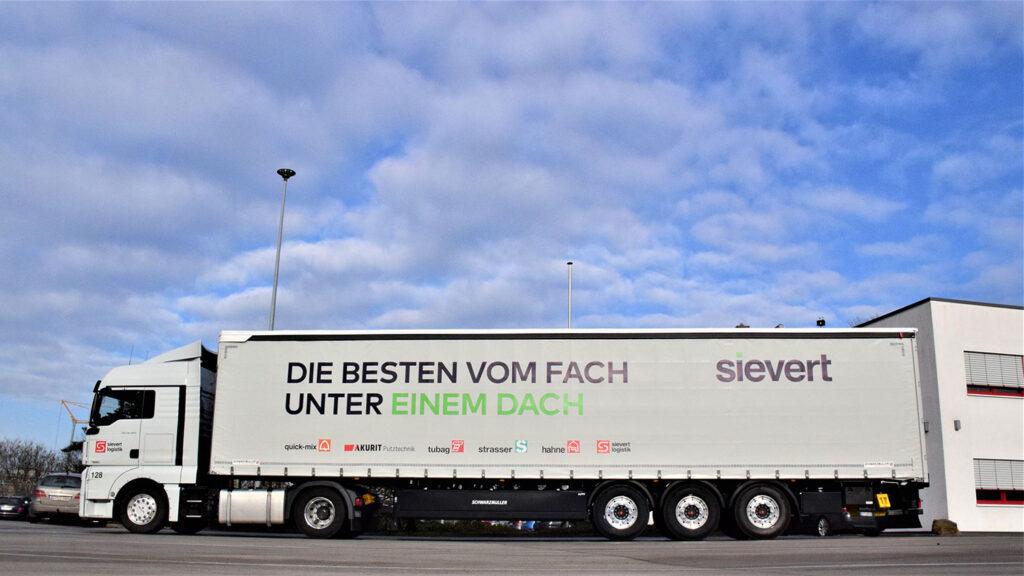 Sievert Logistik LKW