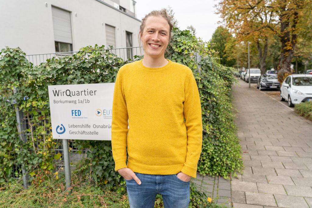 Hendrik de Jong ist glücklich in Osnabrück. Seine Geburtsstadt bietet dem 30-Jährigen alles, was er sich wünscht.