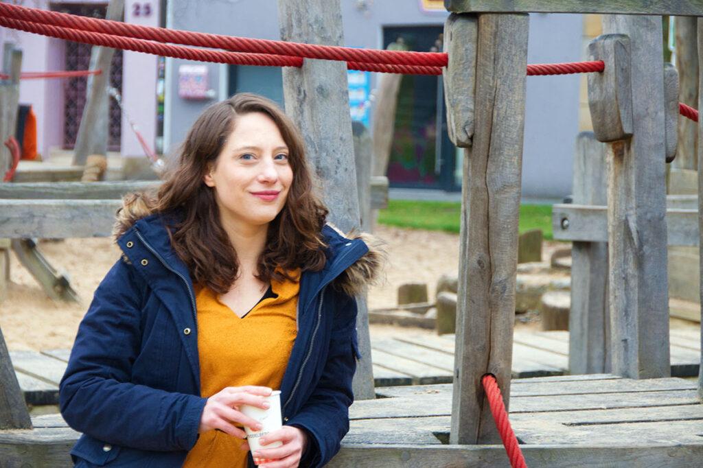 """""""Ich bin nach Osnabrück gekommen und habe direkt gedacht: Hier bleibe ich"""", sagt Kora Blanken."""