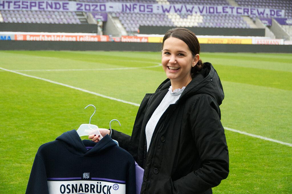 VfL statt Arminia: Louisa Husemöller hat sich für Osnabrück entschieden.
