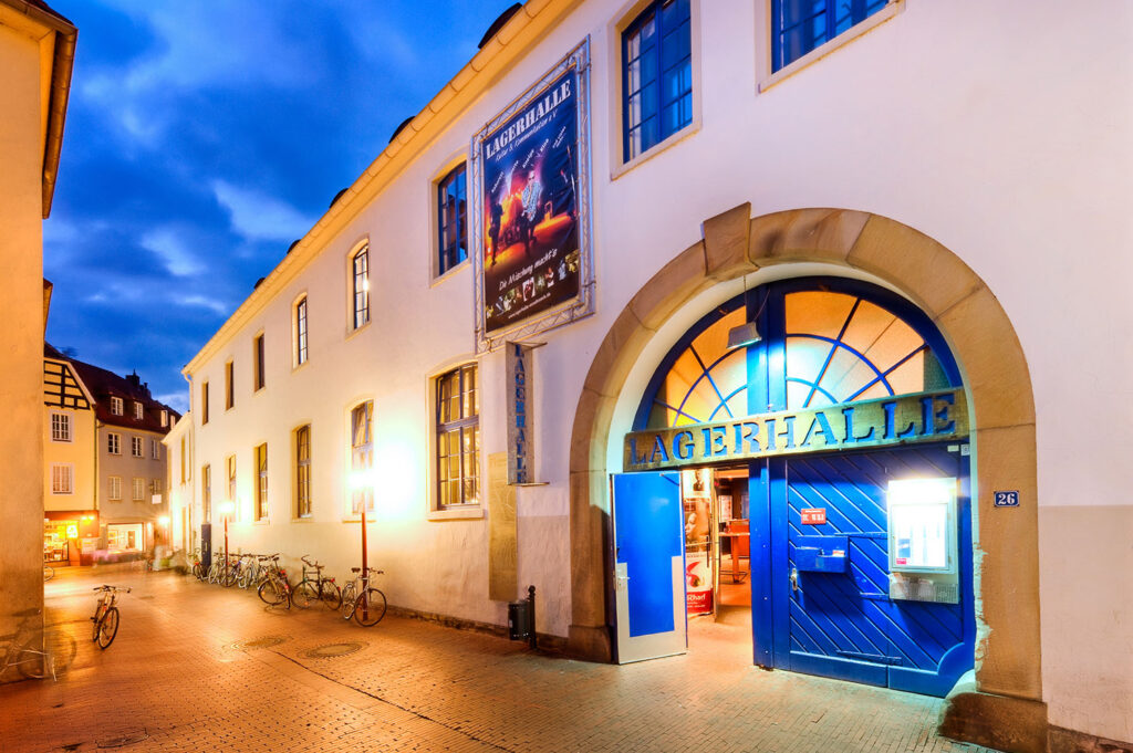 Nicht nur unter Blues-Fans eine feste Größe im Kulturbetrieb: Die Lagerhalle Osnabrück sorgt auch jenseits des Blues' für ein hochkarätiges Programm. Foto: Dirk Egelkamp