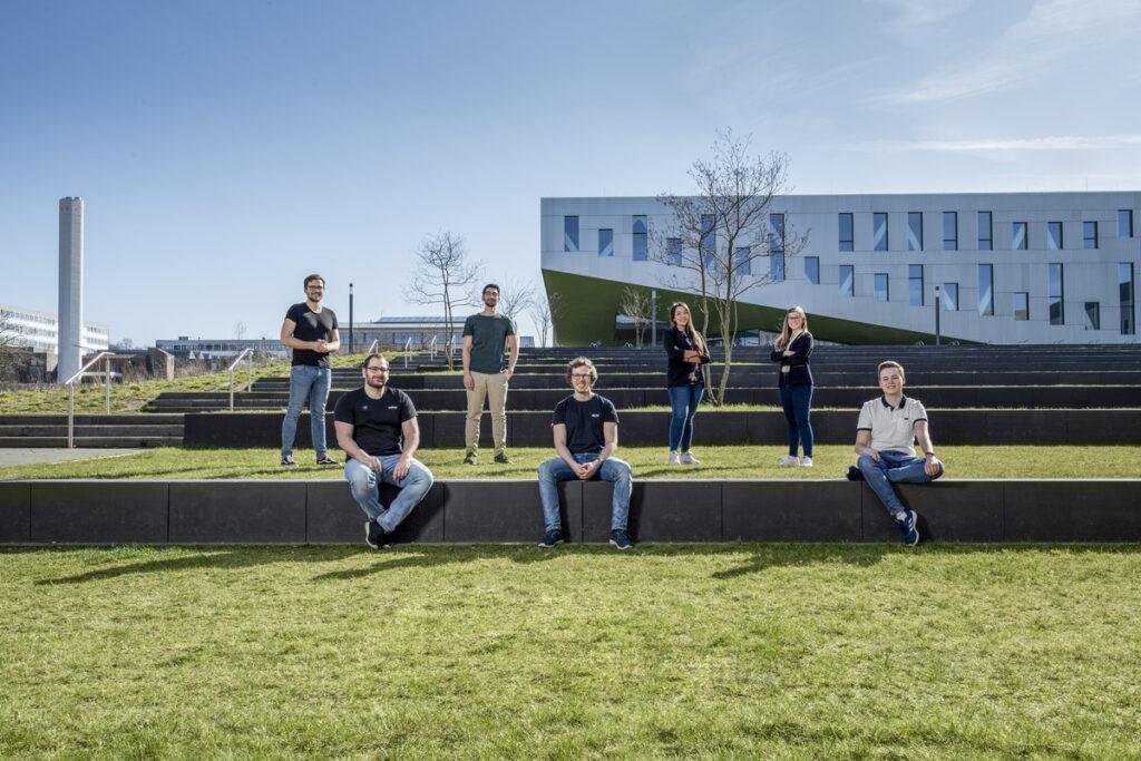 Die Gewinnerinnen und Gewinner des Ideenwettbewerbs der Osnabrücker Hochschulen.