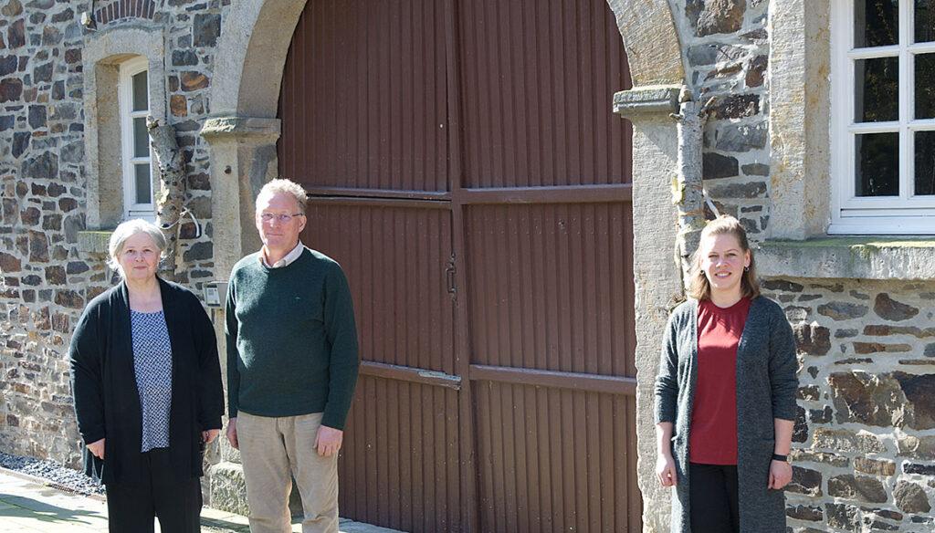 Dagmar Gösling, Bernhard Gösling und Yvonne Tepe von der Hofmolkerei Gösling sind Teil des Netzwerks regionaler Produzentinnen und Produzenten, die beteiligt sind.